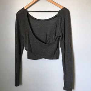 Aerie super soft warm cropped sweater top